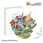 Cubic-Fun-OC3203h Puzzle 3D - Cityscape Collection - New York (Difficulté: 4/6)