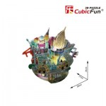 Cubic-Fun-OC3213L Puzzle 3D avec LED - Cityscape Collection - New York (Difficulté: 4/6)