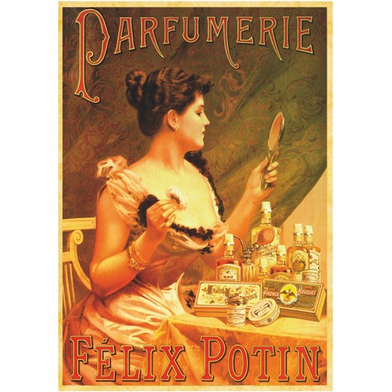 affiche poster vintage parfumerie f lix potin dtoys 67579 ps07 posters planet 39 puzzles. Black Bedroom Furniture Sets. Home Design Ideas
