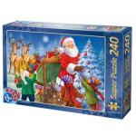Dtoys-50670-XM-05 Puzzle de Noël - La distribution