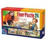 Dtoys-60037-FP-02 Puzzle géant de sol : Pinocchio