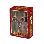 DToys-60556-SF05 Mini Puzzle - Gazelle dans la fôret