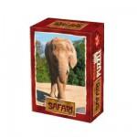 DToys-60556-SF06 Mini Puzzle - Eléphanteau