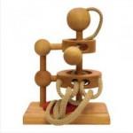 Dtoys-61416-02 Casse-tête en bois IQ Games - Basic 2 - Difficulté : 2/5