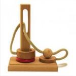 Dtoys-61423-03 Casse-tête en bois IQ Games - Basic 3 - Difficulté : 2/5