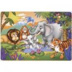 Puzzle  Dtoys-61430-AN-03 La douche de l'éléphanteau
