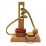 Dtoys-61447-04 Casse-tête en bois IQ Games - Basic 4 - Difficulté : 3/5