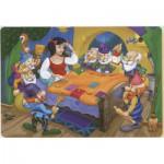 Puzzle  Dtoys-61454-BA-01 Color Me : Blanche Neige et les Sept Nains + 2 dessins à colorier