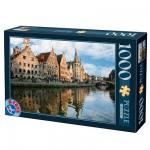 Puzzle  DToys-62154-EC05 Belgique - Gand