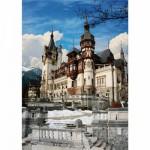 Puzzle  DToys-63038-MN08 Roumanie : Château de Peles