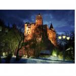 Puzzle  DToys-63038-MN09 Roumanie : Château de Bran
