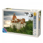Puzzle  DToys-63052-RM02 Roumanie : Château de Bran