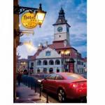 Puzzle  DToys-63052-RM06 Roumanie : Brasov - Kronstadt