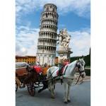 Puzzle  DToys-64288-FP03 Italie - Tour de Pise
