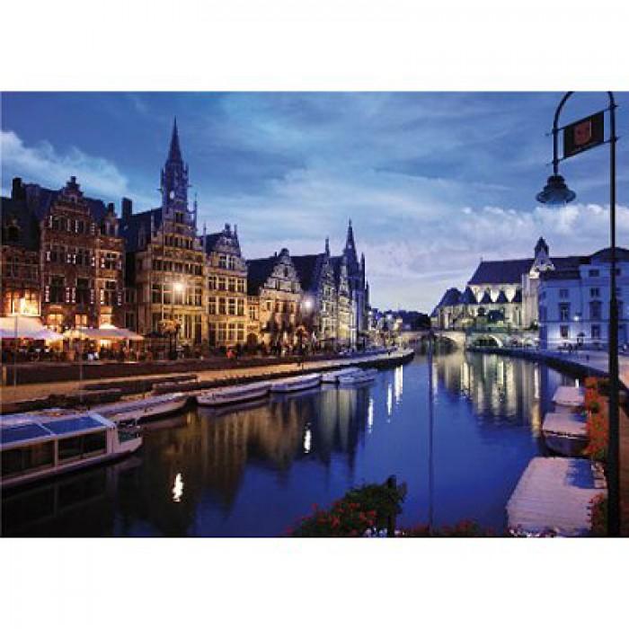Paysages nocturnes - Belgique : Gand