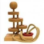 Dtoys-64325-16 Casse-tête en bois IQ Games - Basic 16 - Difficulté : 3/5