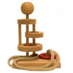 Dtoys-64455-18 Casse-tête en bois IQ Games - Basic 18 - Difficulté : 3/5