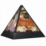 Puzzle  DToys-65957-PP03 Pyramide 3D - Egypte : Fresques égyptiennes