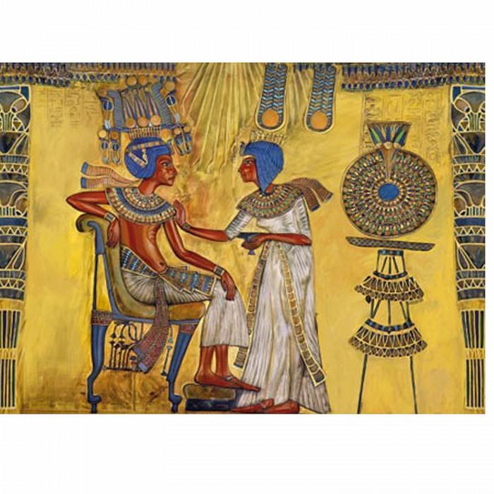 Egypte ancienne - Fresque (détail)