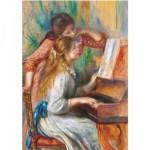 Puzzle  DToys-66909-RE09 Renoir Auguste - Jeunes filles au piano