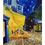 Puzzle  DToys-66916-VG09 Van Gogh Vincent - Arles, Terrasse du café le soir, Place du Forum