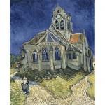 Puzzle  DToys-66916-VG10 Van Gogh Vincent - L'Église d'Auvers-sur-Oise