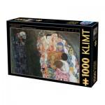Puzzle  Dtoys-66923-KL10 Klimt Gustav - La Vie et la Mort, 1916