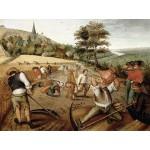 Puzzle  DToys-66947-BR02 Brueghel Pieter le jeune - Eté