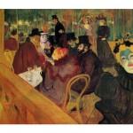 DToys-66978-TL02 Henri de Toulouse-Lautrec : Au Moulin Rouge / Puzzle difficile