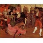 DToys-66978-TL03 Henri de Toulouse-Lautrec - Marcelle Lender dansant le boléro dans Chilperic / Puzzle difficile