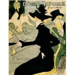 DToys-66978-TL07 Henri de Toulouse-Lautrec - Divan japonais / Puzzle difficile
