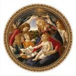 Puzzle  DToys-66985-TM02 Botticelli Sandro : Madonna del Magnifica