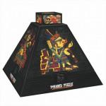 DToys-66992-PP01 Pyramide 3D - Art précolombien / Puzzle difficile