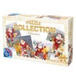 Puzzle  Dtoys-67340-XM-01 Le Père Noël et les enfants