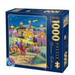 Puzzle  DToys-67371CM01 Collection de Noël - Arrivée en ville / Pièces Mini