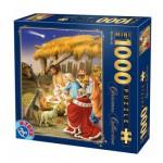 Puzzle  DToys-67371CM02 Collection de Noël - La naissance / Pièces Mini