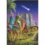 Puzzle  DToys-67371CM03 Collection de Noël - L'étoile du berger / Pièces Mini