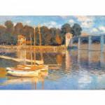 Puzzle  DToys-67548-CM03 Monet Claude - Le pont d'Argenteuil