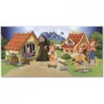 Dtoys-67814-GP-03 Puzzle Globe - Hansel et Gretel