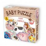 Dtoys-71262-BP-01 6 Puzzles - Bébés animaux de la Ferme