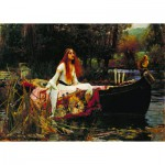 Puzzle  Dtoys-72757-WA-01 Waterhouse John William : The Lady of Shalott