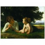 Puzzle  Dtoys-72764-BO-02 Bouguereau William : La Tentation