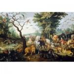 Puzzle  Dtoys-73785-BR01 Brueghel Pieter - Entrée des Animaux dans l'Arche de Noé