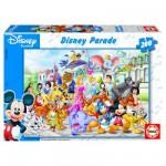 Puzzle  Educa-13289 Disney Parade : Le défilé