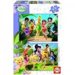 Educa-14660 2 Puzzles - Disney Fairies