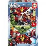 Educa-15932 2 Puzzles - Avengers