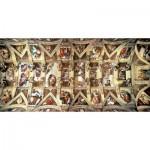 Puzzle  Educa-16065 Michel Ange : La Chapelle Sixtine
