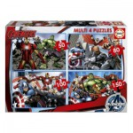Educa-16331 4 Puzzles - Avengers