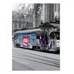 Puzzle  Educa-16358 Tram de Gand, Belgique