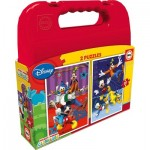 Educa-16510 2 Puzzles - Mickey Mouse